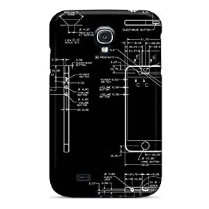 Defender Case With Nice Appearance (iphone 5 Design) For Galaxy S4