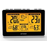Weather Station Professional Wireless with Indoor Outdoor Thermometer Hygrometer Future Weather Forecast
