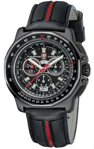 Luminox F 22 Raptor Lockheed Martin Chronograph Mens Watch 9278