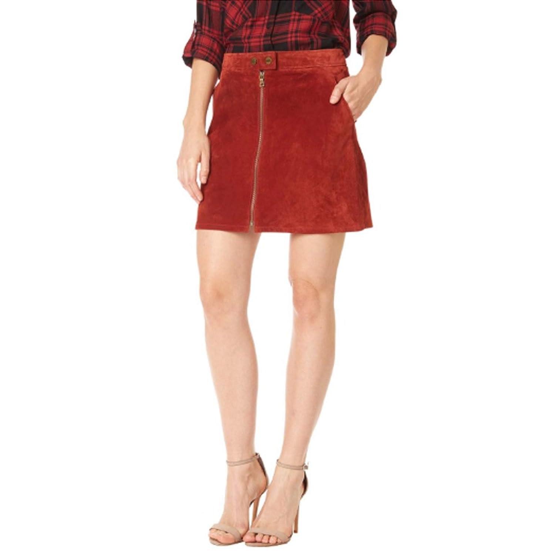 1960s Style Skirts Sanctuary Womens Marci Mod Suede Skirt  AT vintagedancer.com