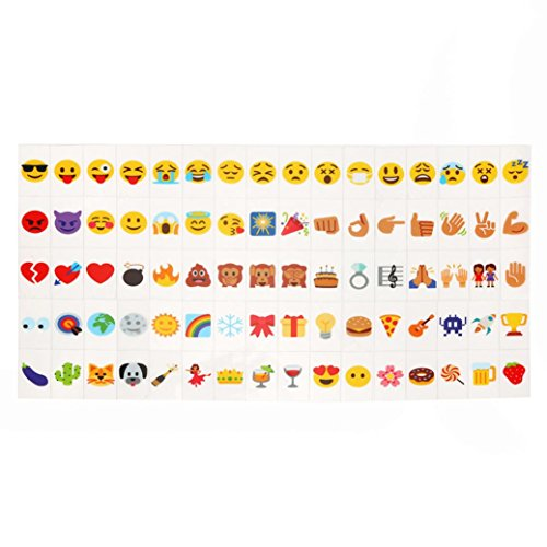 Highpot Colour Emoji Letters FOR A3 A4 A5 Cinema Lightbox - Regular Print Paper Size for Wedding Birthday Decoration Light Box Wall Decor Message Board Gift (Flower Gallery Music Box)