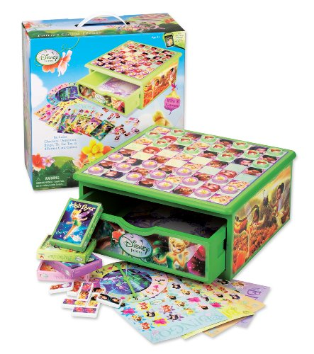 Cardinal Fairies Game House - Checkers Disney Fairies