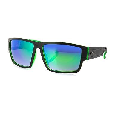 Carve Sublime Sonnenbrille one size Matte Black/Green/Green Revo IVvMwUR