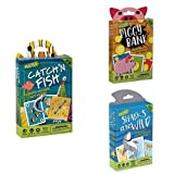 Hoyle Children's Card Games- Catch'n Fish, Piggy Bank, Sharks are Wild, 3 Games Bundle!