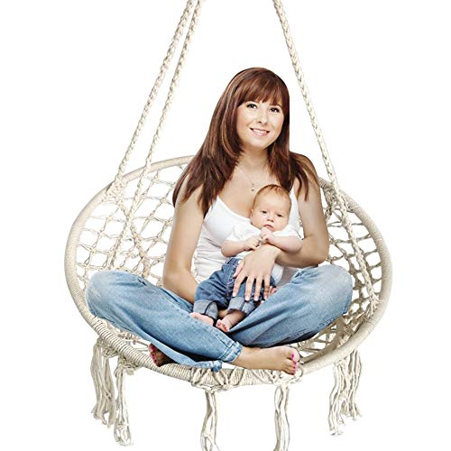 Cheap  BHORMS Hammock Chair Macrame Swing for Any Indoor or Outdoor Spaces Home,..