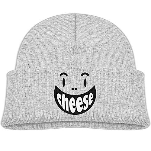Kocvbng I Smile Cheese Face Beanie Cap Skull Hats Toddler ()