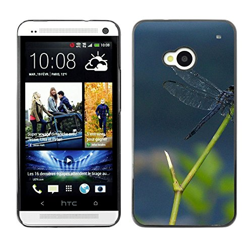 Soft Silicone Rubber Case Hard Cover Protective Accessory Compatible with HTC ONE M7 2013 - Plant Nature Forrest Flower 112