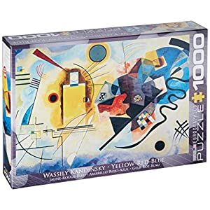 Eurographics 03271 Kandinsky Giallo Rosso Bl Puzzle 1000 Pezzi