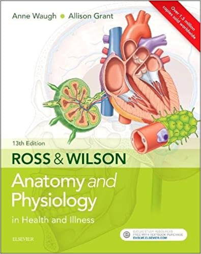 Ross & Wilson Anatomy and Physiology in Health and Illness, 13e ...