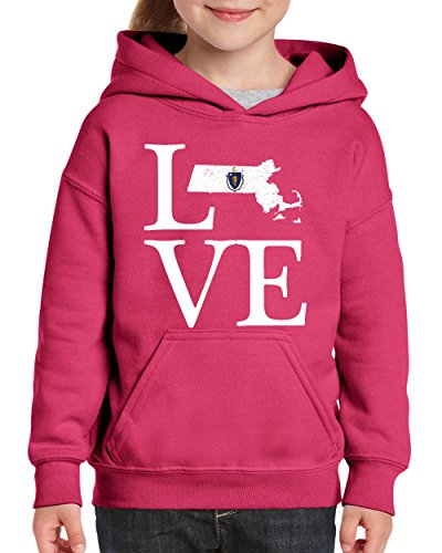NIB Love Massachusetts State Flag Traveler`s Gift Youth