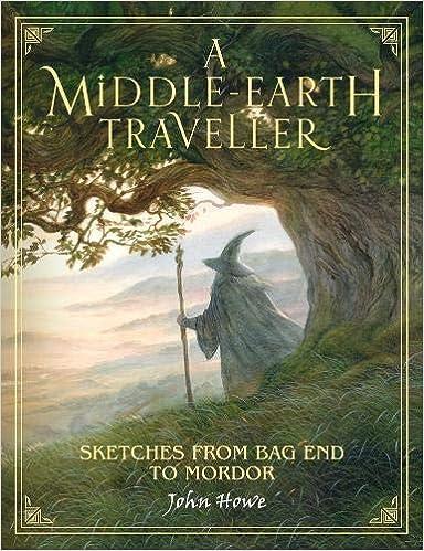 A Middle-earth Traveller: Sketches From Bag End To Mordor por John Howe epub