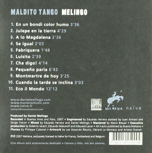 melingo maldito tango