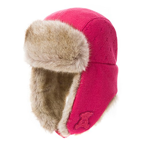 Warm ladies winter caps of Lei feng/ wool care ear muff/ flying hat-B One Size