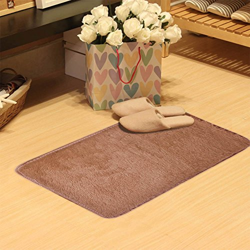 Iuhan Fashion Fluffy Rugs Anti-Skid Shaggy Area Rug Dining Room Home Bedroom Carpet Floor Mat 19.68x31.49inch (Indian Couple Costume)