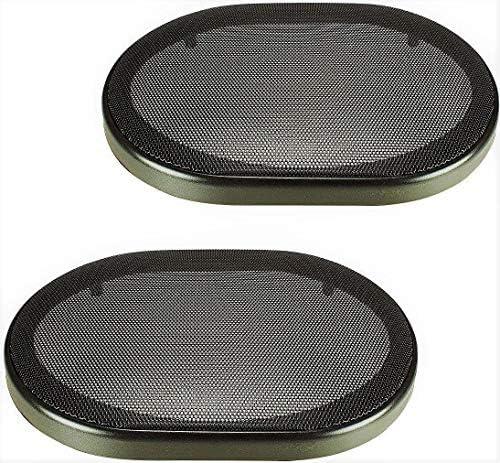 "8"" x 8"" Universal Steel Mesh Protective Speaker Grills-Pair"