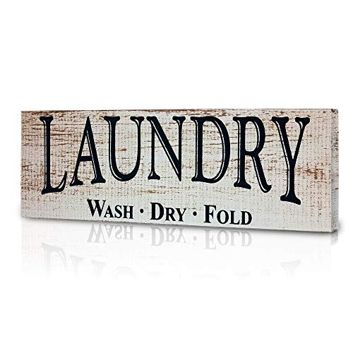 MyVintageFinds Laundry Signs, Farmhouse Laundry Room Decor, Made in America. (Room Pictures For Laundry)