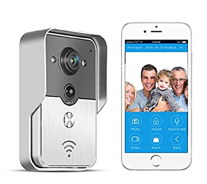 BW® WiFi Doorbell, Doorbell Wireless IP Intercom Interfone