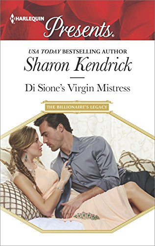 Di Sione's Virgin Mistress by Sharon Kendrick