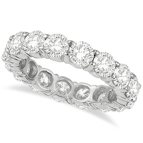 Diamond Eternity Ring Wedding Band Palladium (5.00ct) Diamond Palladium Wedding Band