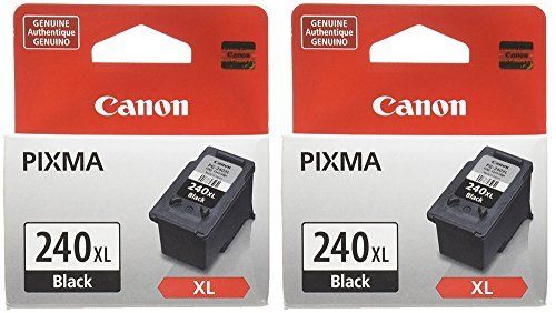 Canon QmrhP Cartridge, PG-240XL Black (2 Pack)