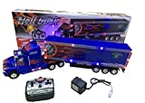 tractor trailer pc games - Big-Daddy Super Cool Series Extra Large Super Duty Tractor Trailer With Light & Music Colors may very Black & Blue)