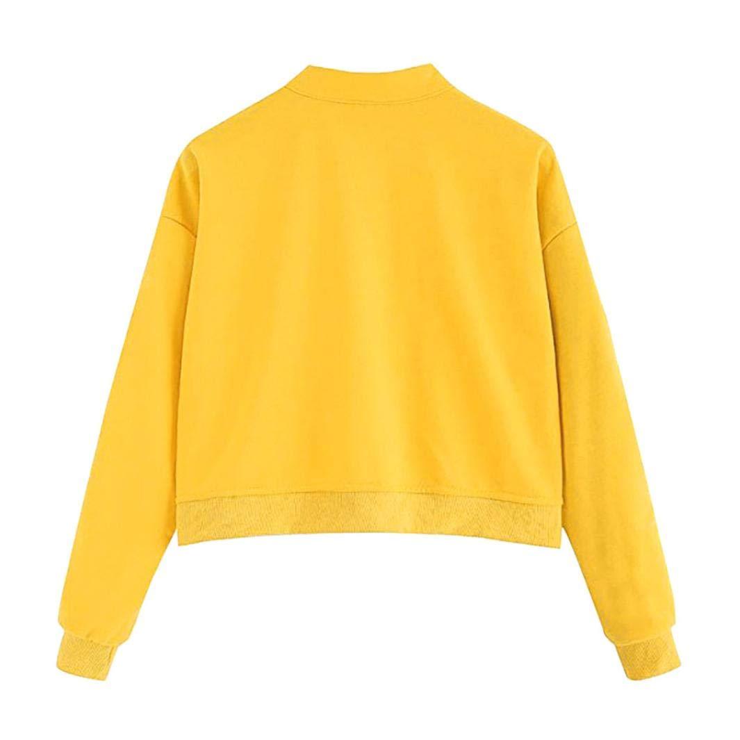 Overdose Sudadera Casual Womens Long Sleeve Sweatshirt ...