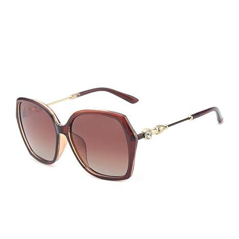 xqzs Gafas de Sol polarizadas Mujer Gafas de Sol Grandes con ...