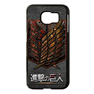 Attack on Titan Black Phone Case for Samsung S6