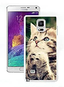Design for Mass Customization Christmas Cat White Samsung Galaxy Note 4 Case 29