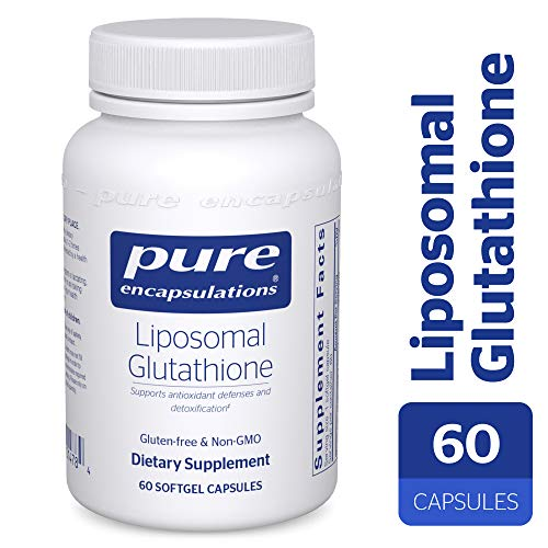 Pure Encapsulations - Liposomal Glutathione - Antioxidants, Liver Support and Detoxification* - 60 Softgel Capsules - Glutathione 500 Mg 60 Capsules