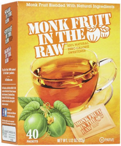Price comparison product image Sugar in the Raw Monk Fruit In The Raw - 40 ct