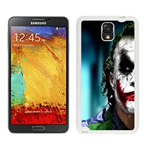 Newest And Fashionable Samsung Galaxy Note 3 Case Designed With The Joker White Samsung Galaxy Note 3 Screen Cover High Quality Cover Case