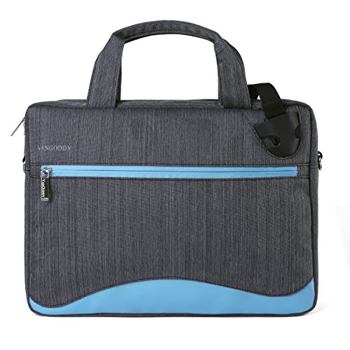 VanGoddy Wave Slim Aqua Anti Theft Messenger Bag for Dell Alienware/ChromeBook / Latitude/Inspiron / XPS 11