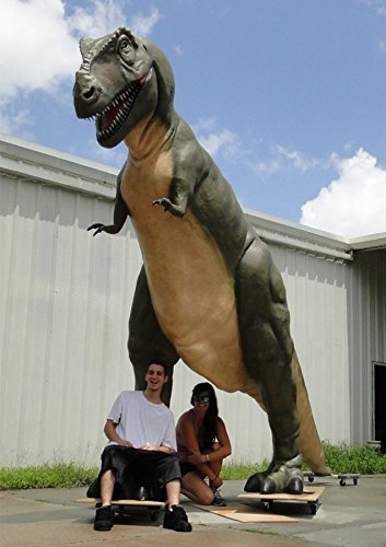 GIANT T Rex LIFESIZE Dinosaur IN STOCK Tyrannosaurus Museum Trade Show  SCULPTURE