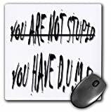 Sandy Mertens D.U.M.B. Quotes - You Have Dumb - MousePad (mp_6068_1)