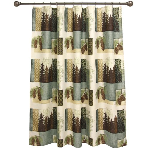 Bacova Guild Westlake Fabric Shower Curtain ()