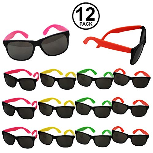 Neon Sunglasses - Party Sunglasses - 80s Party