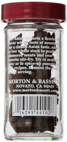 Morton & Bassett Anise, .6-Ounce Jars (Pack of 3)