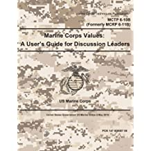Marine Corps Techniques Publication MCTP 6-10B (Formerly MCRP 6-11B) Marine Corps Values: A User's Guide for Discussion Leaders 2 May 2016