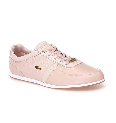 Zapatillas Lacoste de Mujer Rey Sport de Piel - Color - Rosa, Talla - 40: Amazon.es: Zapatos y complementos
