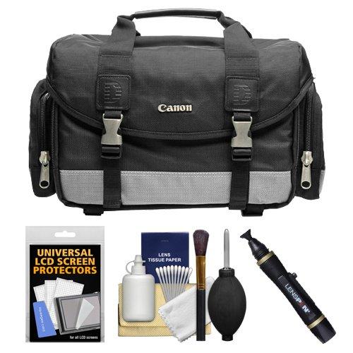 Canon 100DG Digital SLR Camera Case Gadget Bag + Kit for EOS 6D, 7D, 77D, 80D, 5DS R, 5D Mark II III IV, Rebel T6, T6i, T6s, T7i, SL1, SL2 by Canon