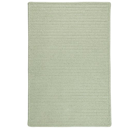Sunbrella Solid LS13SAMPLES Sample Swatch Rugs, 14 x 17, Sea Green
