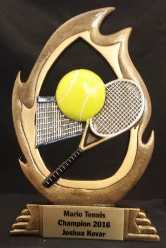 Amazon.com : Tennis Trophy, Tennis Trophies, Resin Awards ...