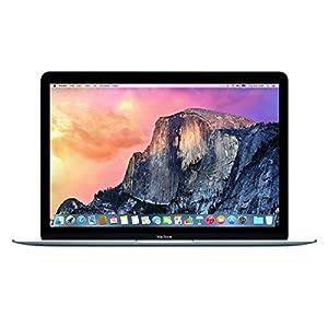 """Apple MacBook MJY32LL/A Intel Core M-5Y31 X2 1.1GHz 8GB 256GB 12"""",Dark Gray(Scratch and Dent)"""