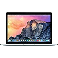 Apple MacBook MJY32LL/A Intel M-5Y31 X2 0.9GHz 8GB 256GB 12 MacOSX,Gray (Certified Refurbished)