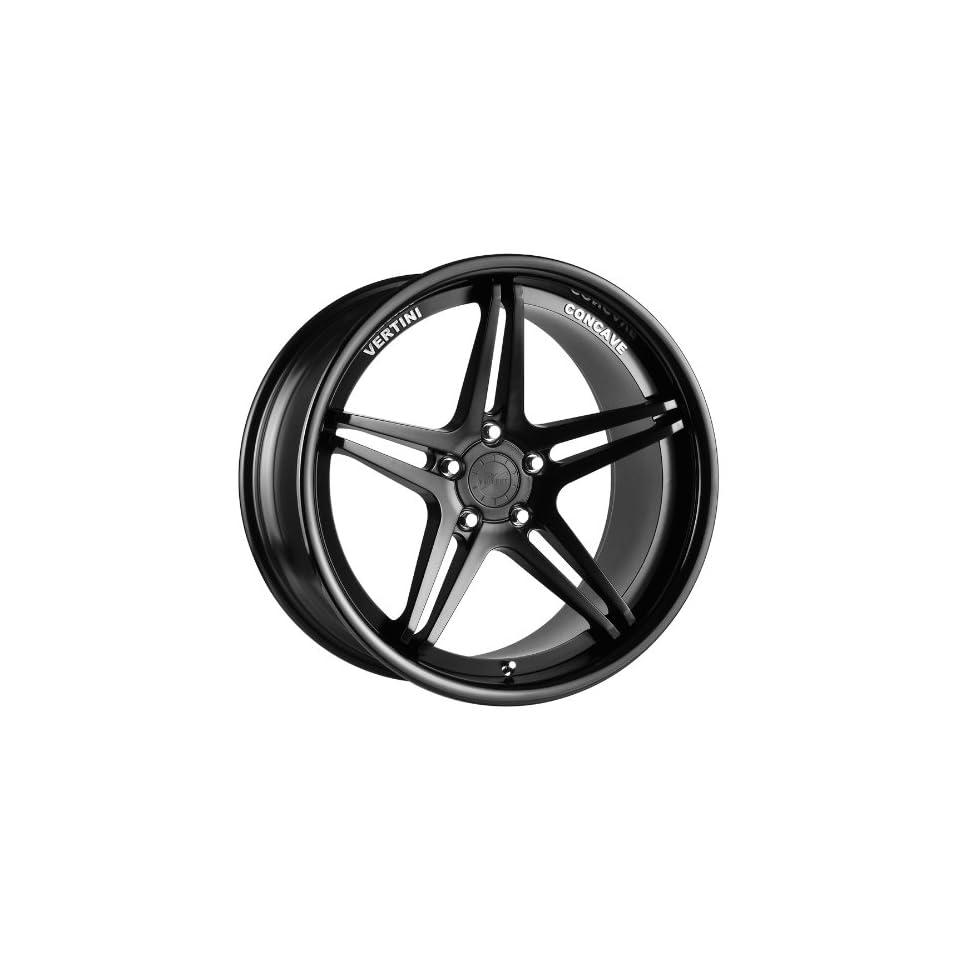 Vertini Monaco 20x8.5 20x10 Mercedes Benz E S C Class Staggered Wheels Rims Matte Black LIP 4pc 1set