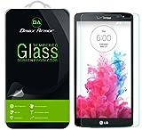 LG G Vista Glass Screen Protector, Dmax Armor [Tempered Glass] 0.3mm 9H Hardness, Anti-Scratch, Anti-Fingerprint, Bubble Free, Ultra-clear