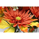 Admired-By-Nature-GPB6409-YWCOFFRUST-14-Stems-Artificial-Sunflower-Gerbera-Daisy-and-Lotus-Root-Mixed-Flowers-Bush-for-Home-Office-Wedding-Restaurant-Decoration-Arrangement-YellowCoffeeRust