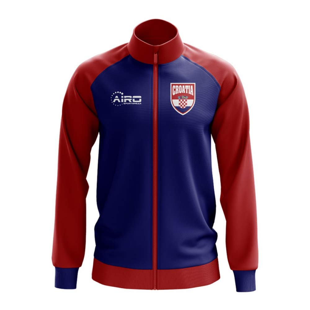 Airo Sportswear Croatia Concept Football Track Jacket (Navy) - Kids
