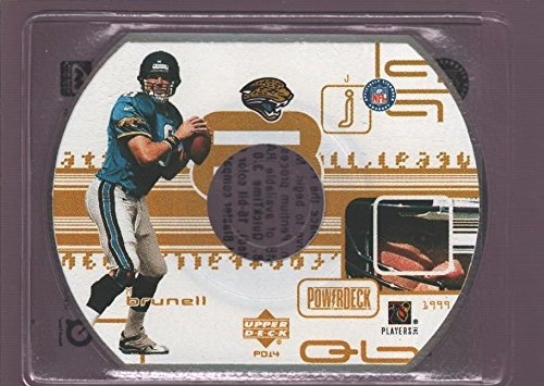 MARK BRUNELL JAGUARS POWER DECK DIE CUT CD 1999 UD UPPER DECK POWERDECK CD-ROM